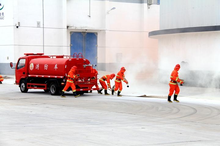 集团开展2019年安全生产培训暨观摩消防