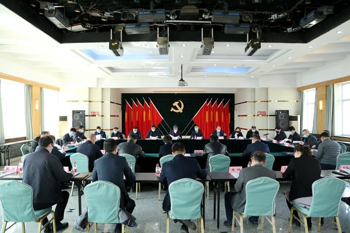 基层党组zhi书记抓党建gong作述职评议会议
