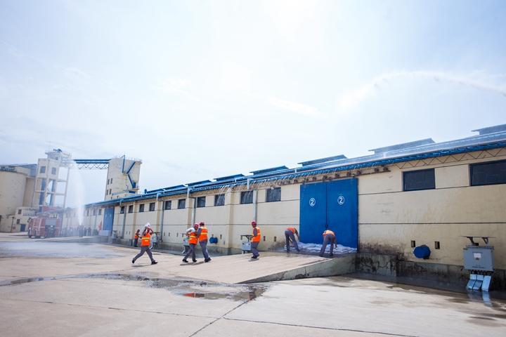 2020年安全生产培训暨观摩防汛